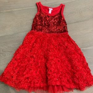 Justice Red Party Dress 10